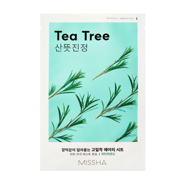 MISSHA Airy Fit Sheet Mask Tea Tree Miss Eco PL