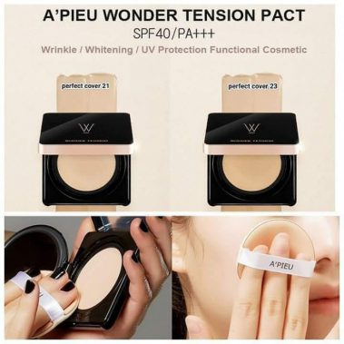 A'PIEU Wonder Tension Pact Perfect Cover SPF40 Miss Eco1