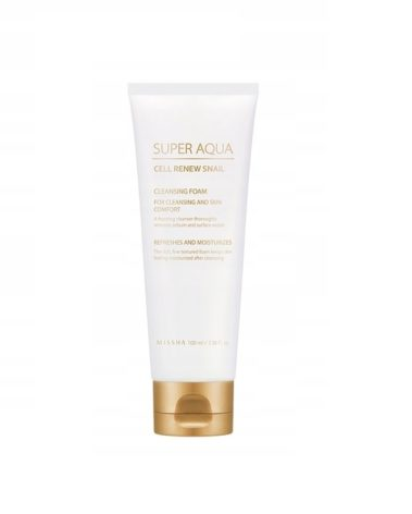 MISSHA Super Aqua Cleansing Cell Renew Snail Foam Miss Eco