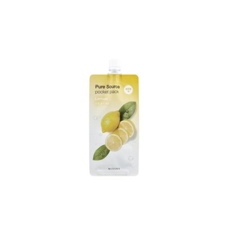 MISSHA-Pure-Source-Pocket-Pack-(Lemon)-Miss-Eco