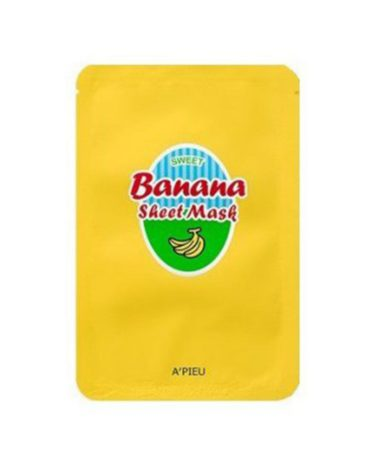 A'PIEU-Banana-&-Honey-Sheet-Mask-Miss-Eco