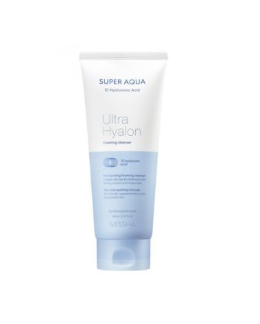 MISSHA Super Aqua Ultra Hyaluron Foaming Cleanser Miss Eco