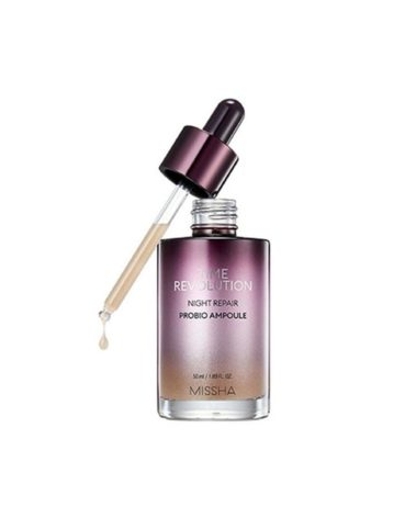 MISSHA-Time-Revolution-Night-Repair-Probio-Ampoule-Miss-Eco