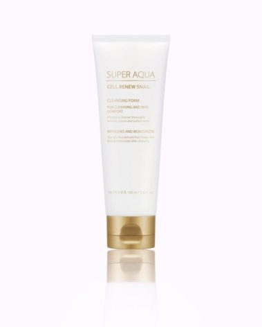 MISSHA-Super-Aqua-Cell-Renew-Snail-Cleansing-Foam-misseco1